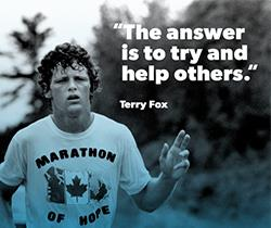 Terry Fox Thanksginving