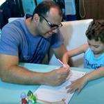 Gustavo, pai do Caio, 5 anos (aluno do IK)