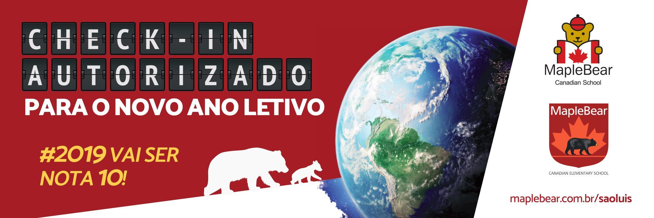 Maple Bear São Luís: o check-in para seu filho no mundo